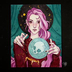 Bad Luck ☾ Original Painting