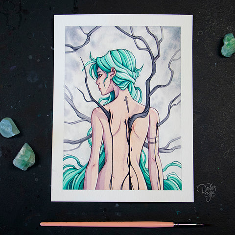 Branches ☾ Original Painting
