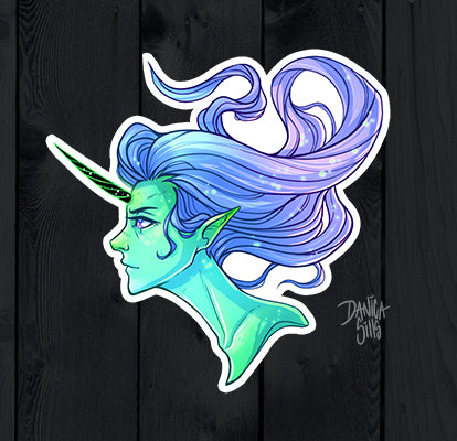 Unicorn ☾ Vinyl Sticker