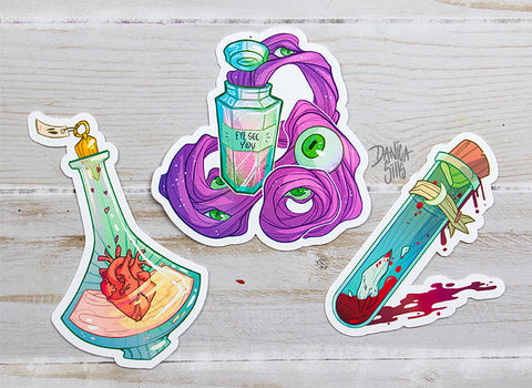 Deadly Potion Stickers