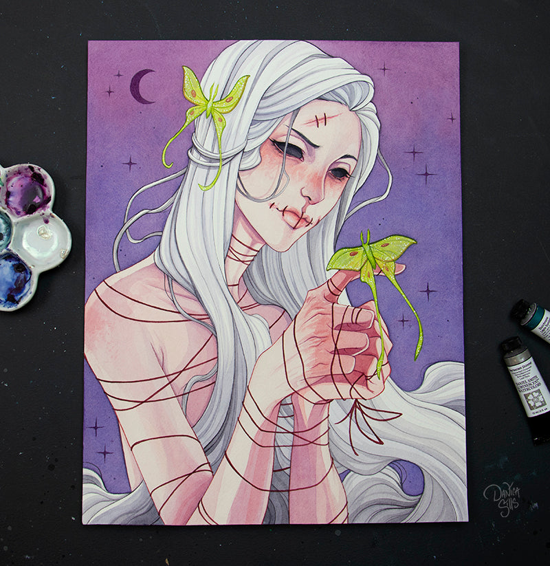 Ill Fate ☾ Original Painting