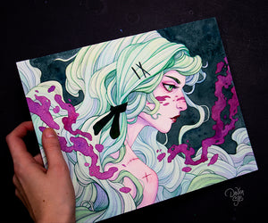 Jade ☾ Original Painting
