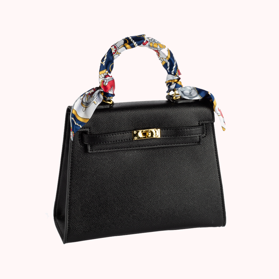 High Roller Black Handbag-HANDBAGS-Honey Honey Shop