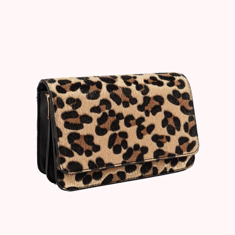 Kitty Leopard Handbag-HANDBAGS-Honey Honey Shop