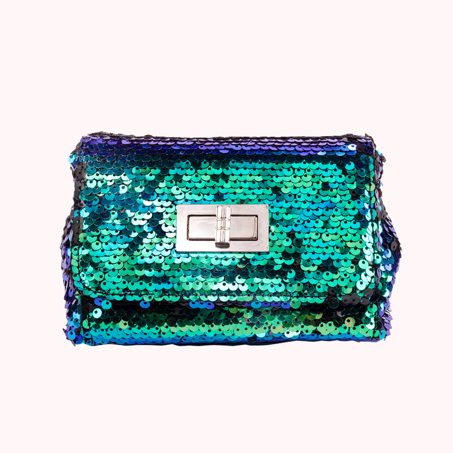 Party Girl Green Summer Clutch-SUMMER-Honey Honey Shop