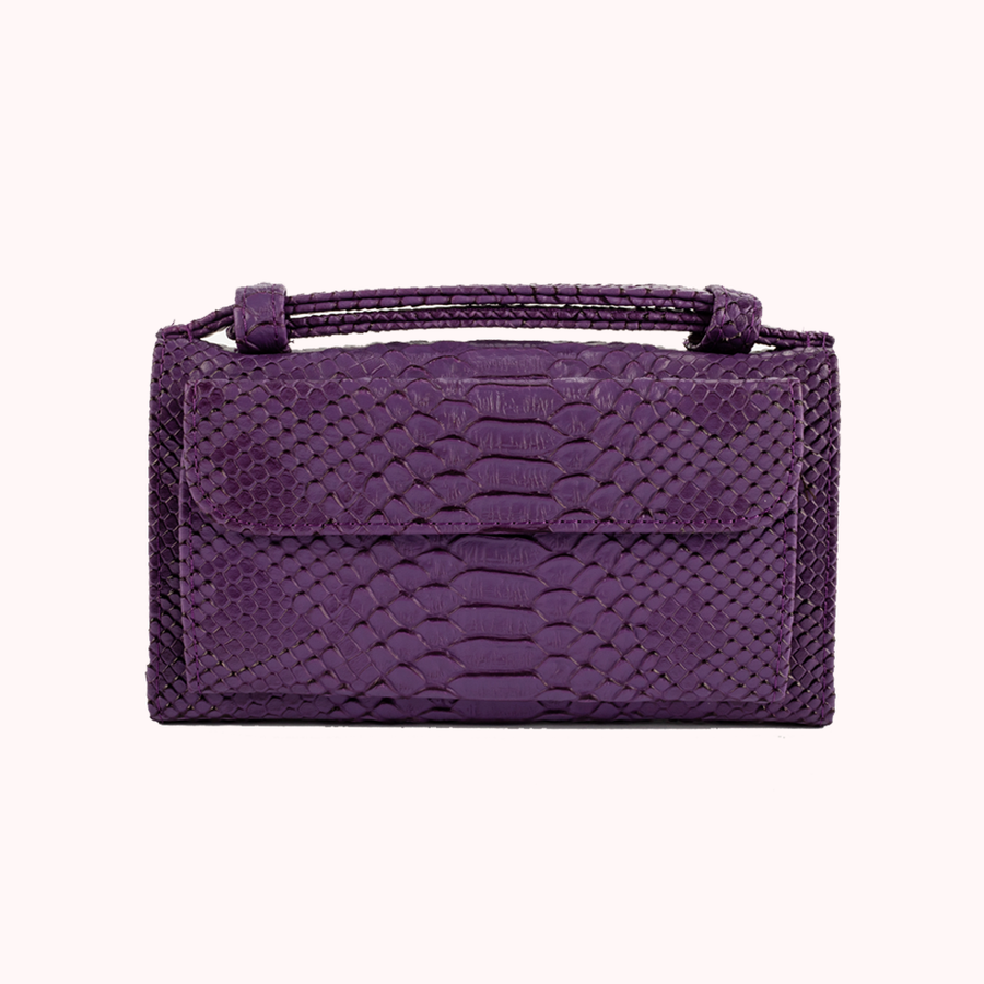 Spotlight Purple Wallet-WALLETS-Honey Honey Shop