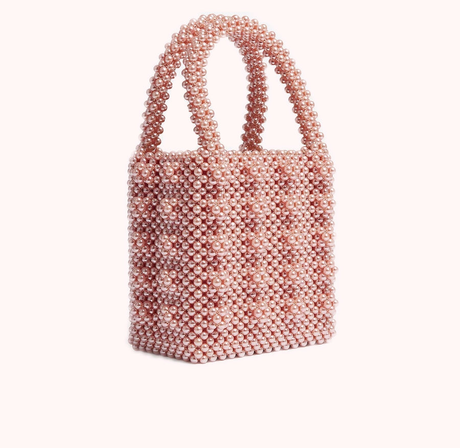 Mother of Pearl- Pink-HANDBAGS-Honey Honey Shop