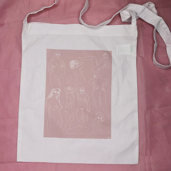 WOMEN ARE ART TOTE BAG
