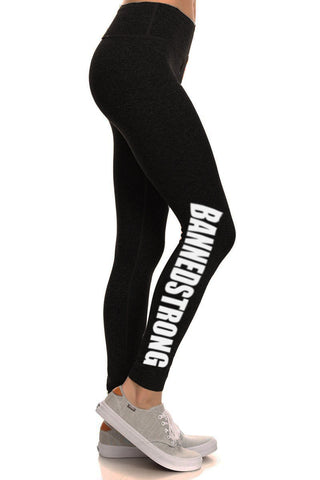 BannedStrong Leggings - Black