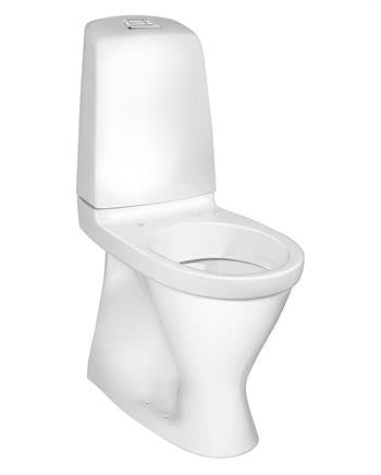 Gustavsberg Nautic 5546L Toilet m/Skjult S-lås - 650x345 mm (Høj model)
