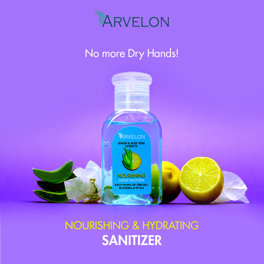 Nourishing Hand Sanitizer-Arvelon