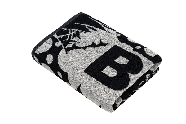 PARADIS-BLACK-BATH TOWEL