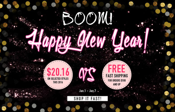 New year sale blog banner