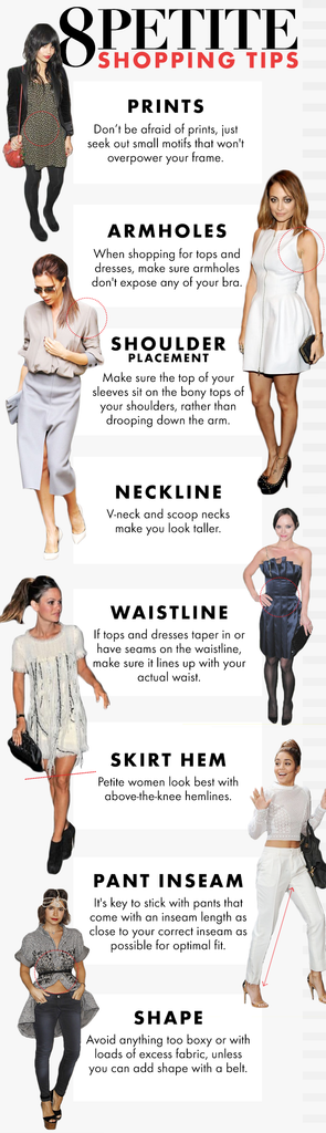 8 shopping tips for petite