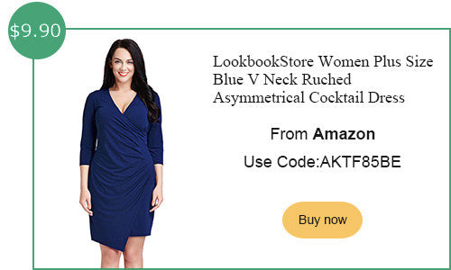Lookbookstore amazon plus size ruched dress