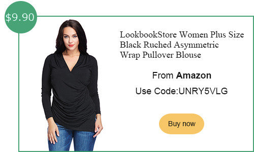 Lookbookstore amazon plus size ruching top