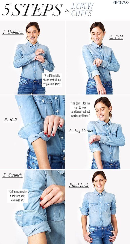 5 Steps to J. Crew Cuffs