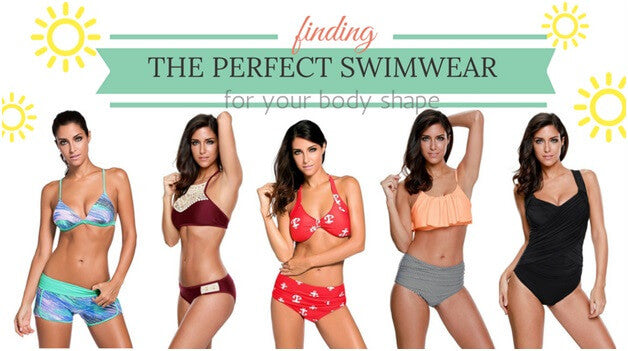 How To Find The Perfect Swimsuit For Your Body Type | Lookbook Store