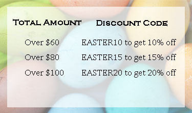 Easter sale discount code