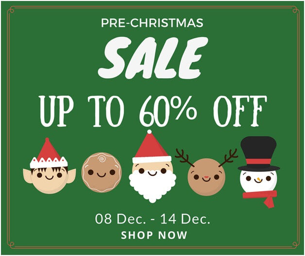 Start the Holiday Season with a Blast with this Super Fab Pre-Christmas Sale | Lookbook Store