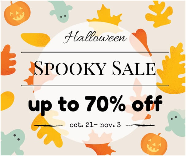 Lookbook Store Halloween Sale