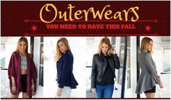 11 Trendy Outerwears You Need To Have This Fall | Lookbook Store
