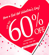 Spread Some Love with This Lovely Valentine's Day Sale! | Lookbook Store