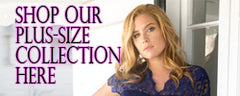 plus-size collection call to action button