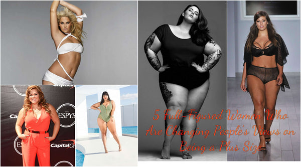 5 Full-Figured Women Who Are Changing People's Views on Being a Plus Size | Lookbook Store