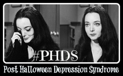 post-halloween depression syndrome