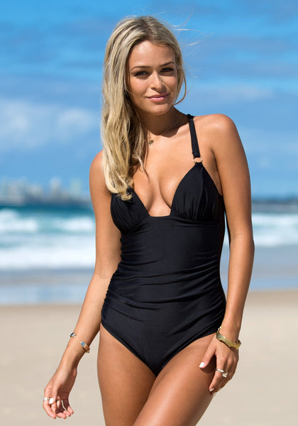 Back Cross Black - Seductive Hot Swimsuit