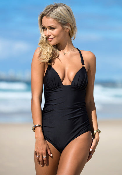 Back Cross Black - Perfect for Pool Party Swimsuit