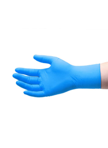 100Pcs. Nitrile Waterproof Protective Disposable Gloves