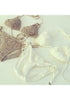 Crochet Floral Bikini Set - Stunning Triangle Design Swimwear