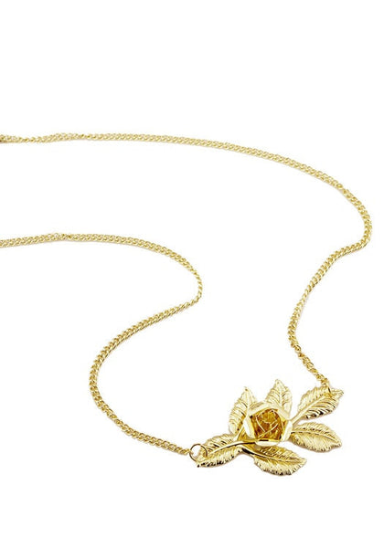 gold rose boho headpiece with white background