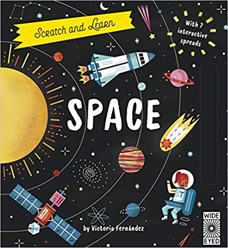 Scratch and Learn Space book