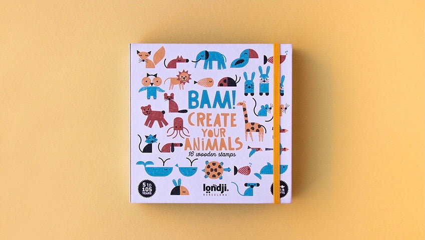 Create Your Animals Stamps