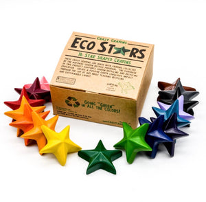 Eco Star Crayons - Set of 16