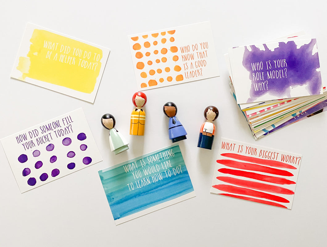 Community Helpers + Table Talk Connect Cards Bundle