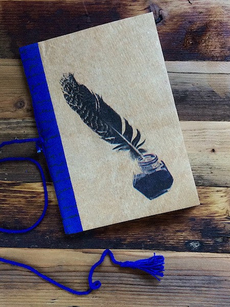 Vintage Quill & Ink Notebook