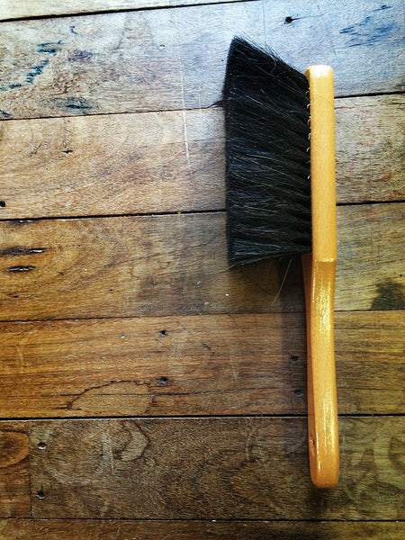 Horse Hair Wooden Dust Brush