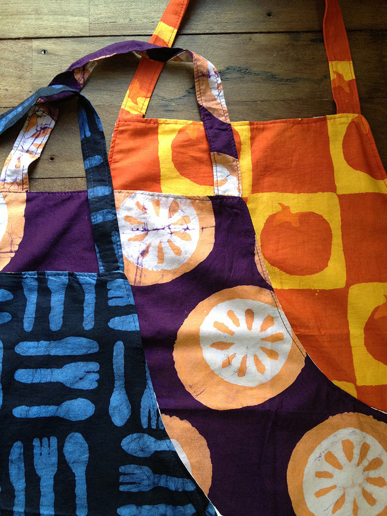 Reversible Recycled Apron