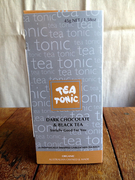 Tea Tonic Dark Chocolate and Black Tea
