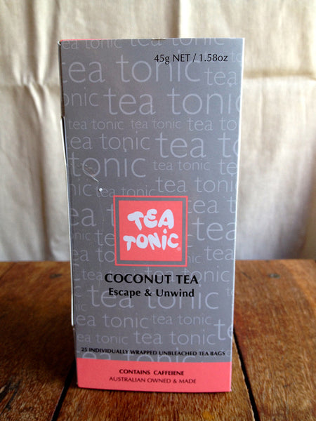 Tea Tonic Coconut Tea