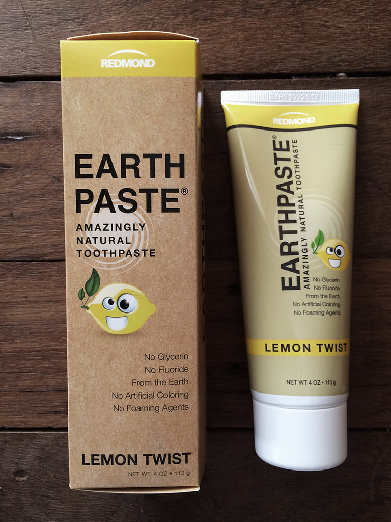 Redmond Earth Paste Toothpaste Lemon
