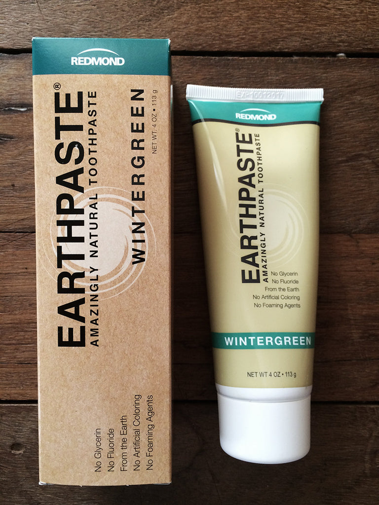 Redmond Earth Paste Toothpaste Wintergreen
