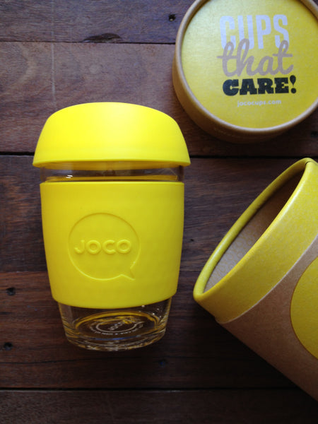 JOCO cups 12oz yellow
