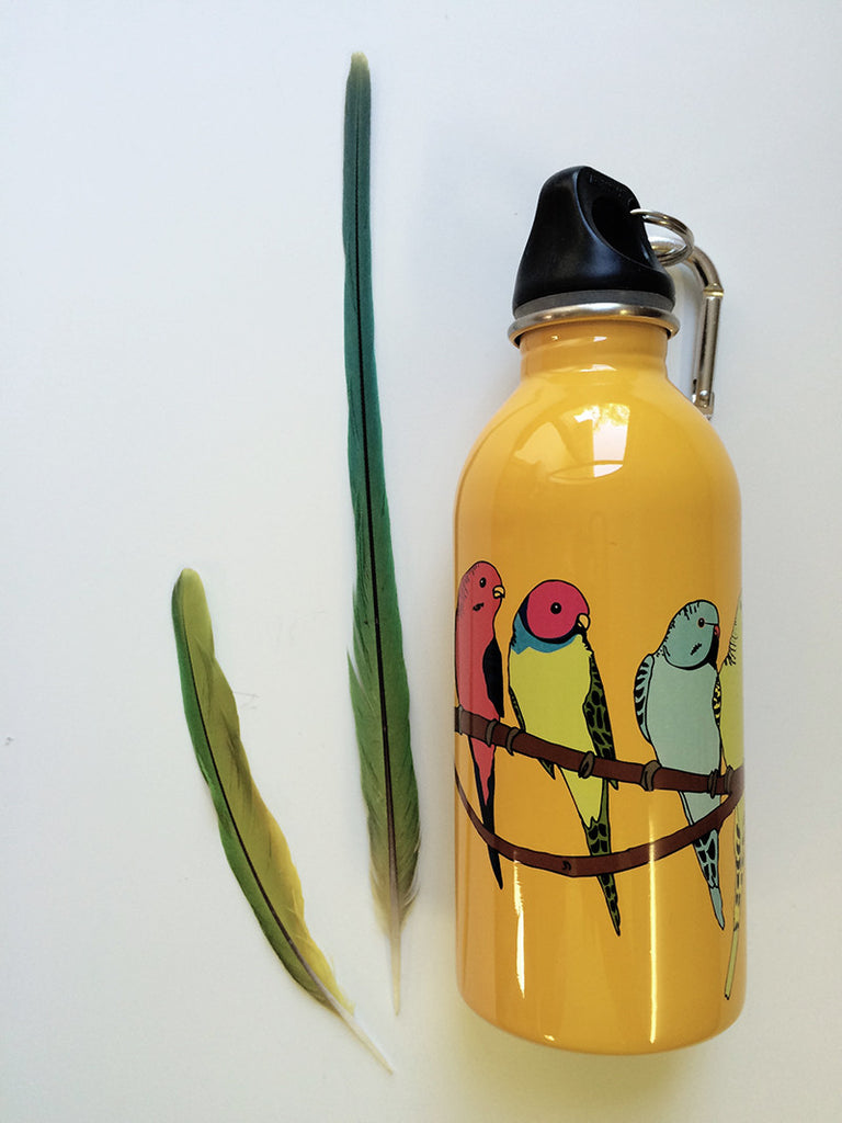 Earth Lust Water Bottles Parakeet 380ml