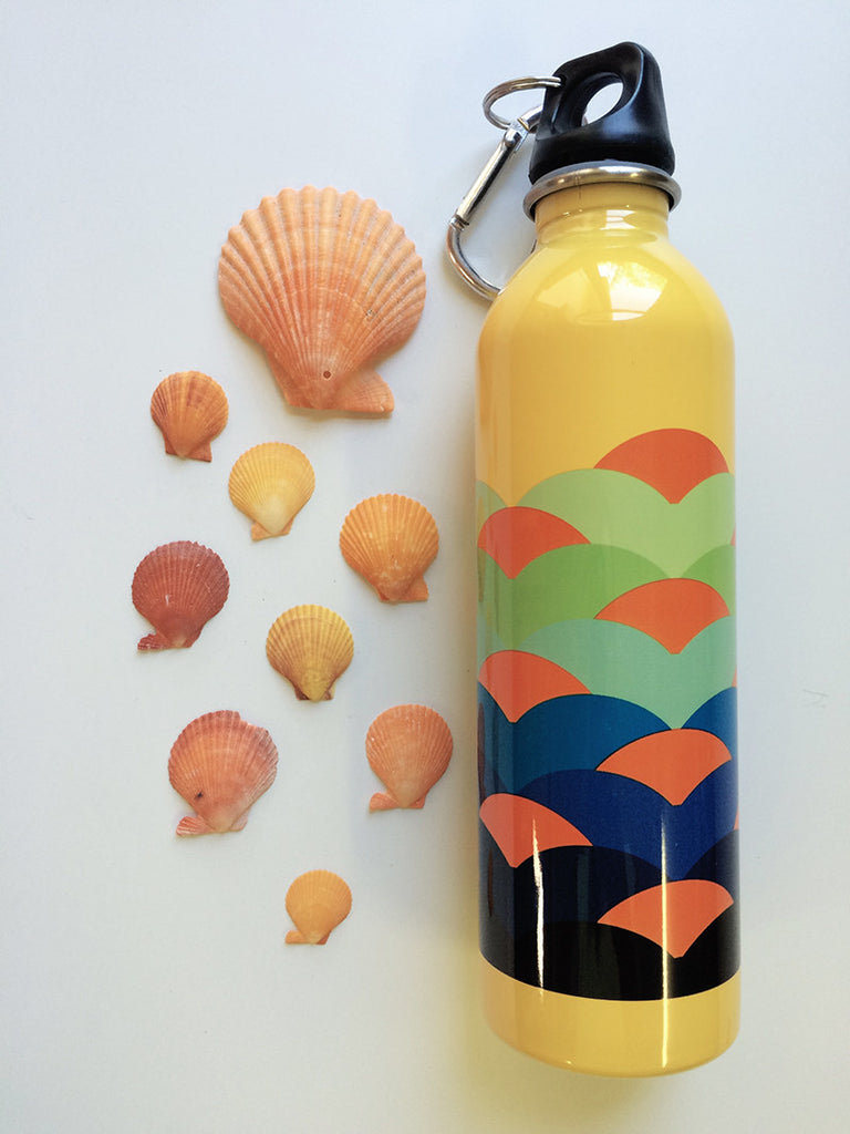 Earth Lust Water Bottles Scallops 600ml