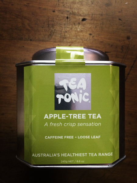 Tea Tonic - Caddy Tin of Loose Leaf Apple Tree Tea 245g